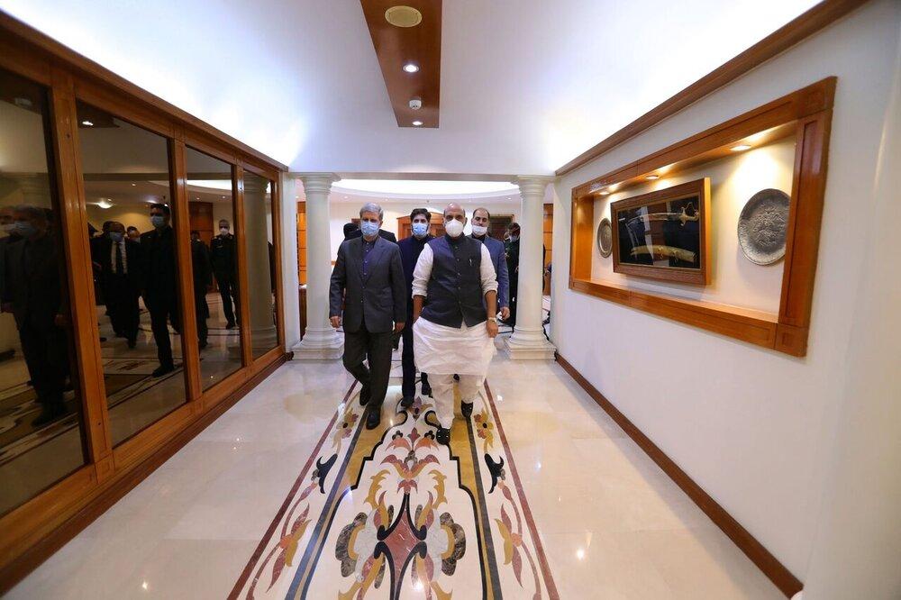 وزیران دفاع هند و ایران دیدار کردند