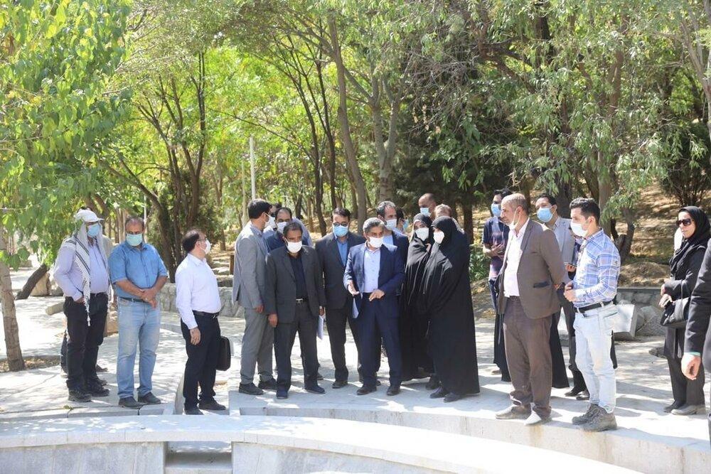 بهرهبرداری از سومین بوستان بانوان شهر مشهد تا پایان سال جاری