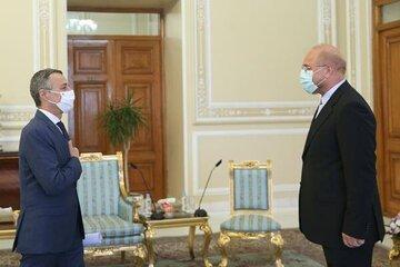 Ghalibaf says U.S. can't impose talks on Iran