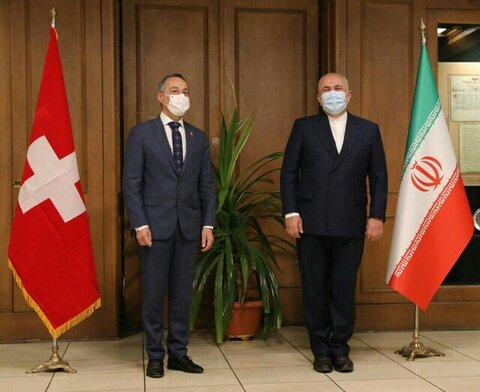 Swiss minister welcomes 'fruitful' talks in Iran