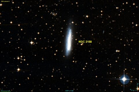 شگفتیهای کهکشان NGC 2188