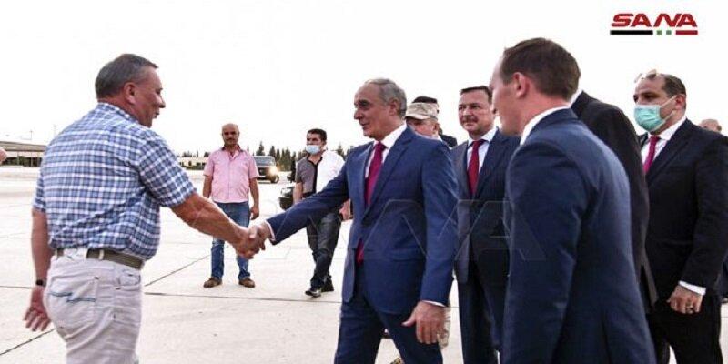 معاون نخست وزیر روسیه وارد دمشق شد