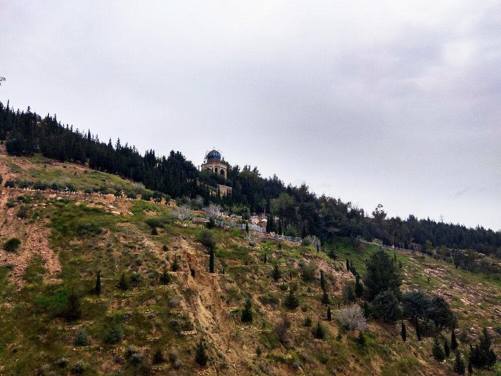 احداث فضای شهری بابا کوهی شیراز آغاز شد