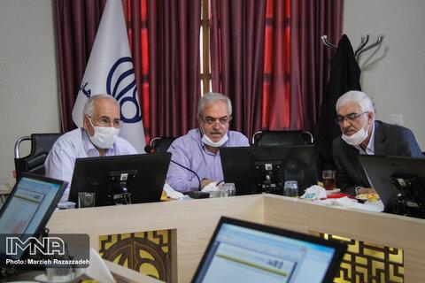 جلسه بررسی روند پیشرفت پروژه های عمرانی شهرداری اصفهان