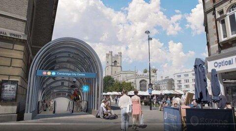 مسیرهای زیرزمینی کمبریج برای تکمیل مترو احیا میشود