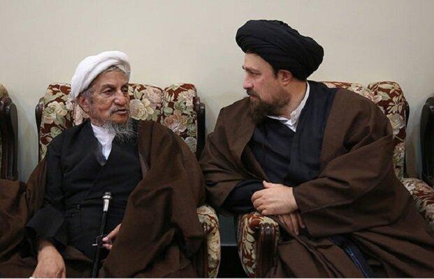 سید حسن خمینی درگذشت آیت الله العظمی یوسف صانعی را تسلیت گفت