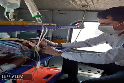 مشکلات تحریم برای بالگردهای هلال احمر/امداد هوایی سراسر کشور را پوشش میدهد