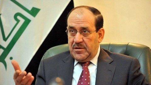 تقدیر المالکی از کمک ایران به عراق در نبرد با تروریسم