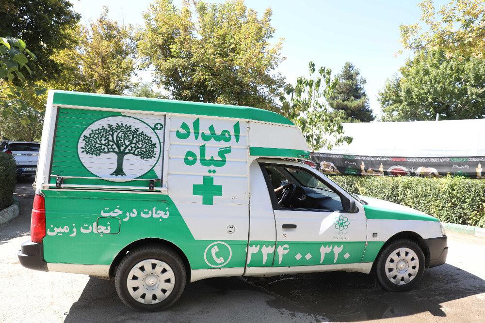 امدادرسانی به بیش از ۶۵۰۰ اصله درخت با همراهی شهروندان مشهدی
