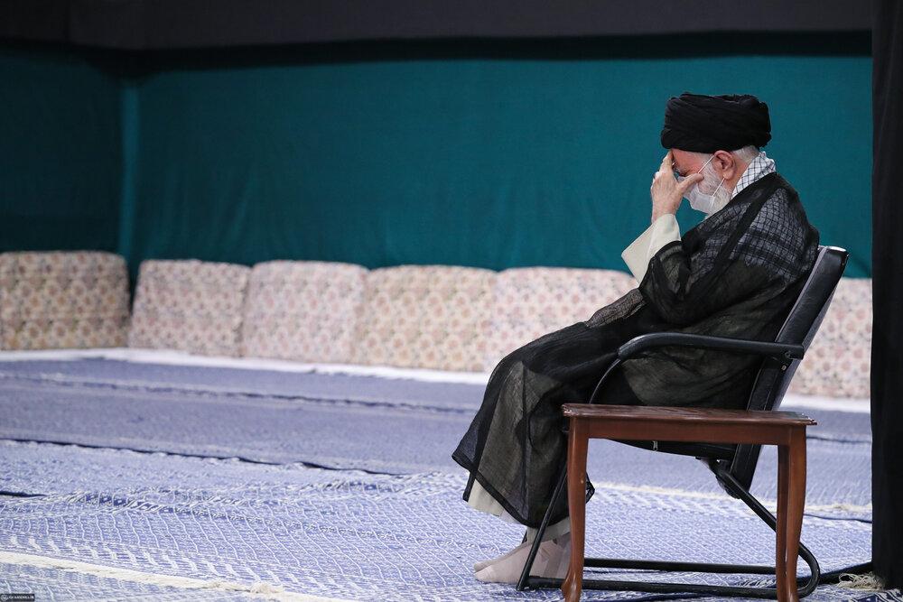 مراسم عزاداری شهادت امام سجاد(ع) در حسینیه امام خمینی برگزار شد