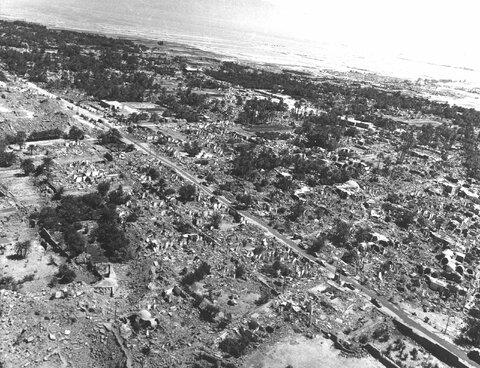 زلزله سال ۵۷ تمام طبس را ویران کرد
