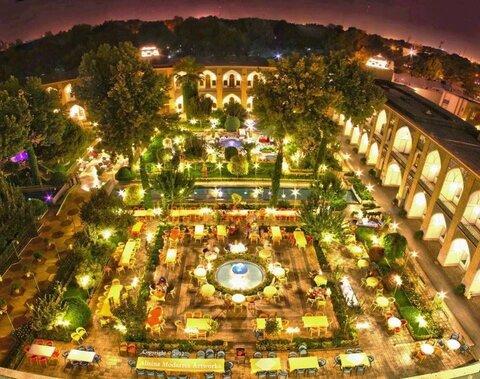 تاریخچه هتل عباسی اصفهان