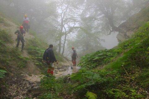 مفقود شدن یک نفر در جنگل کردکوی