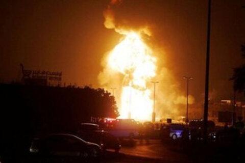 انفجار در مسیر کاروان تدارکاتی آمریکا در عراق