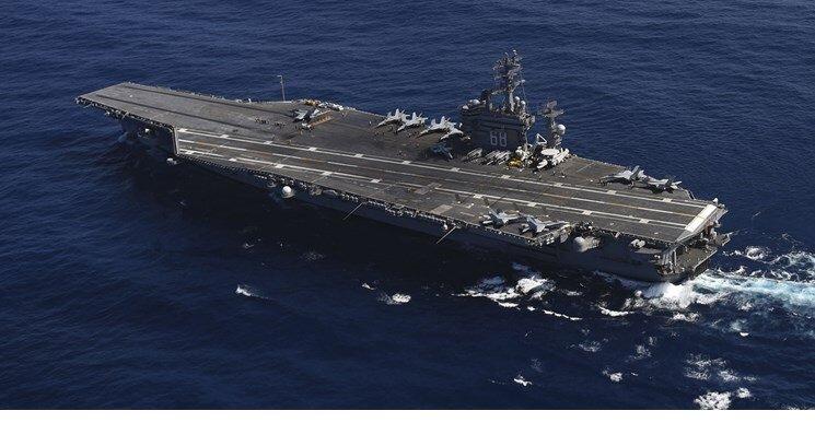 آمریکا ناو «نیمیتز» از خلیج فارس را به خانه برمیگرداند