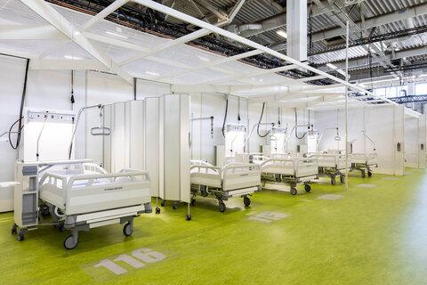 تاکید بر استفاده حداکثری از ظرفیت بیمارستانها برای درمان بیماران کرونا