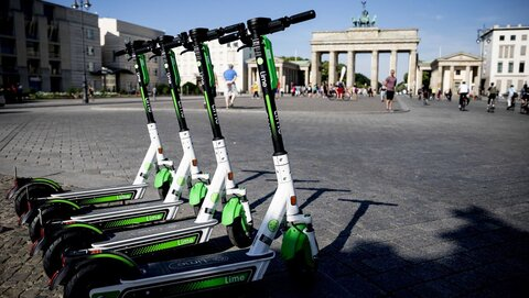 مونیخ میزبان پارکینگ مخصوص اسکوترهای برقی