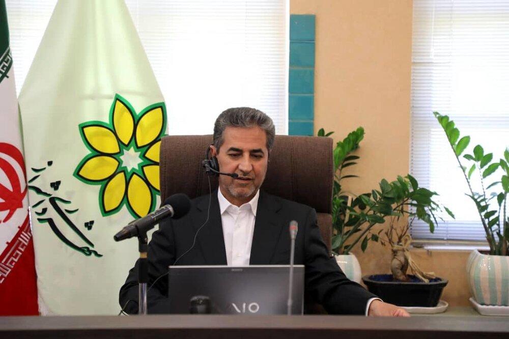 شهرداری شیراز پس از وزش باد شدید در آماده باش کامل است