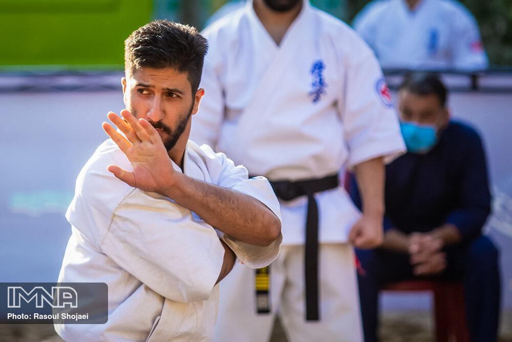 آغاز تمرینات تیم ملی کاراته در مرحله هفتم اردو در مجموعه ورزشی انقلاب