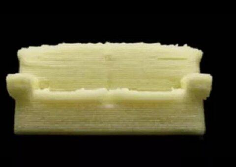 تولید مبل خوراکی توسط چاپگر ۳ بعدی