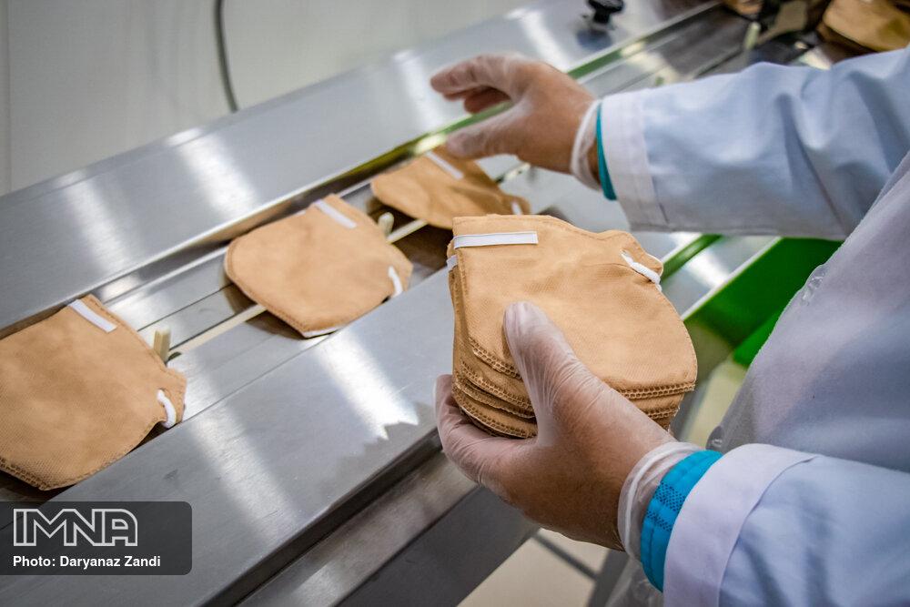 تولید تجهیزات مقابله با ویروس کرونا
