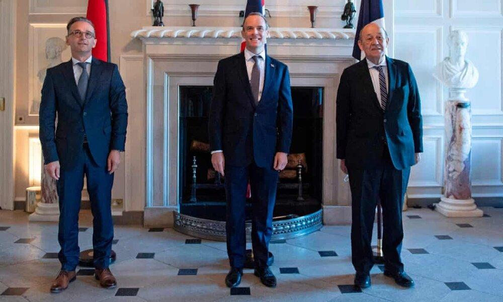 سه کشور اروپایی کوتاه نیامدند؛ ادعای آمریکا فاقد اثر قانونی است
