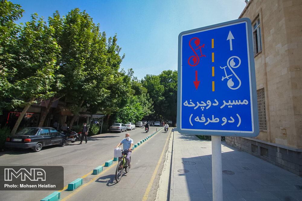 احداث پیست دوچرخهسواری در نیمی از شهرهای سمنان
