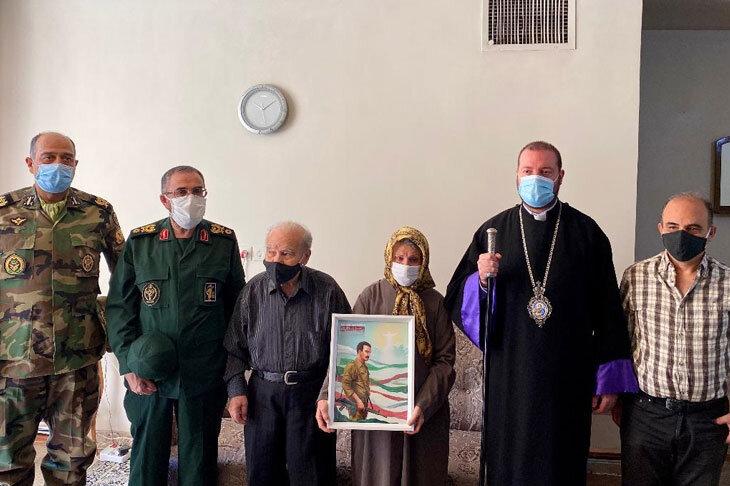 پیکر شهید هراچ هاکوپیان پس از ۳۳ سال به آغوش خانواده باز میگردد