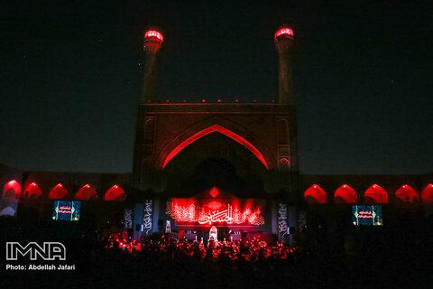 مراسم عزاداری شب ششم محرم- مسجد جامع اصفهان