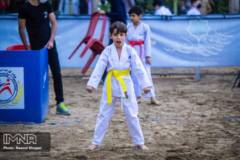 مسابقات کاراته وان جام مولای عرشیان