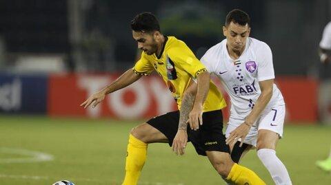 سپاهان بدون مساوی برابر تیمهای قطری+ جدول