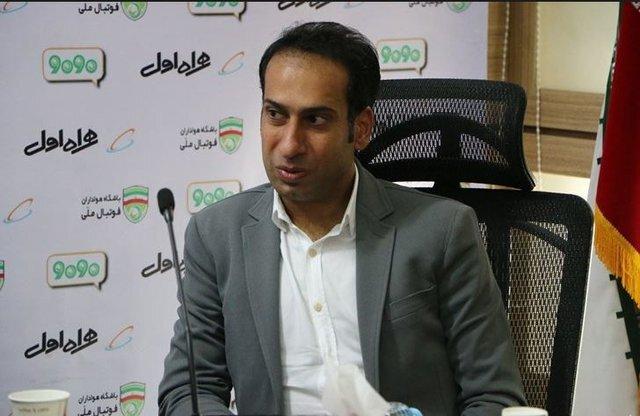 محمد هاشم زاده از تیم ملی استعفا داد