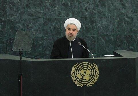 روحانی میخواست اقتدار نظام جمهوری اسلامی ایران را به نمایش بگذارد