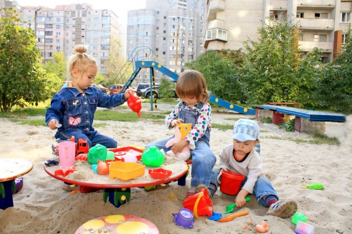 میلان ایتالیا میزبان باغ مخصوص کودکان