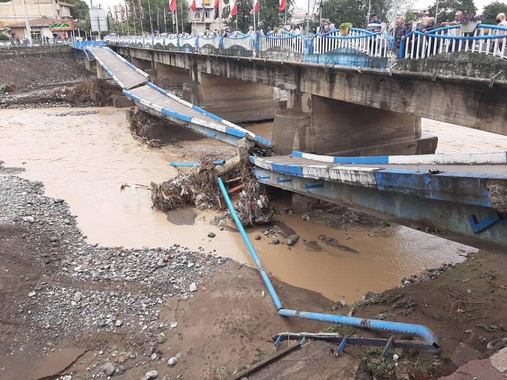 پل اصلی تالش به مدت دو هفته مسدود است