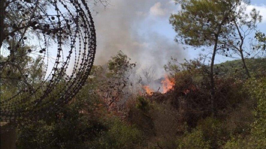 انفجار و آتش سوزی مهیب در جنوب لبنان+ فیلم