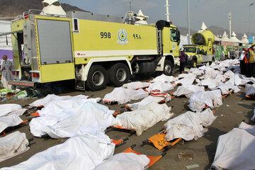 حادثه منا از علت تا قربانیان + سقوط جرثقیل و فیلم