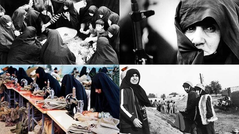 زنان نقش مهمی در دفاع مقدس داشتند/شهادت بیش از ۶۹۰۰ زن در دفاع مقدس