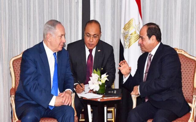 اولین سفیر اسراییل در قاهره استوارنامهاش را تقدیم سیسی کرد