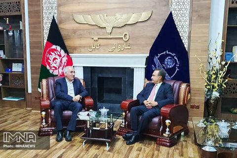 مراودات اصفهان و افغانستان توسعه مییابد