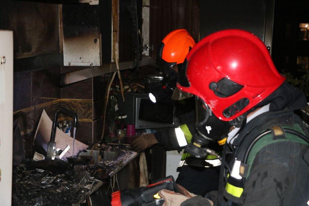 آتش سوزی ۶ خانه ویلایی در رشت