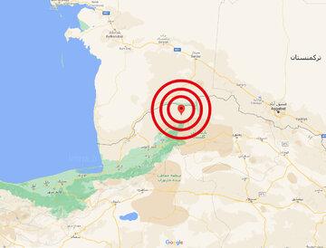 زلزله ۵.۲ ریشتری مراوه تپه گلستان را لرزاند + عکس