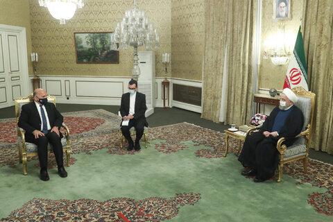 روحانی بر ضرورت تسریع در اجرای توافقات دو جانبه تهران - بغداد تاکید کرد