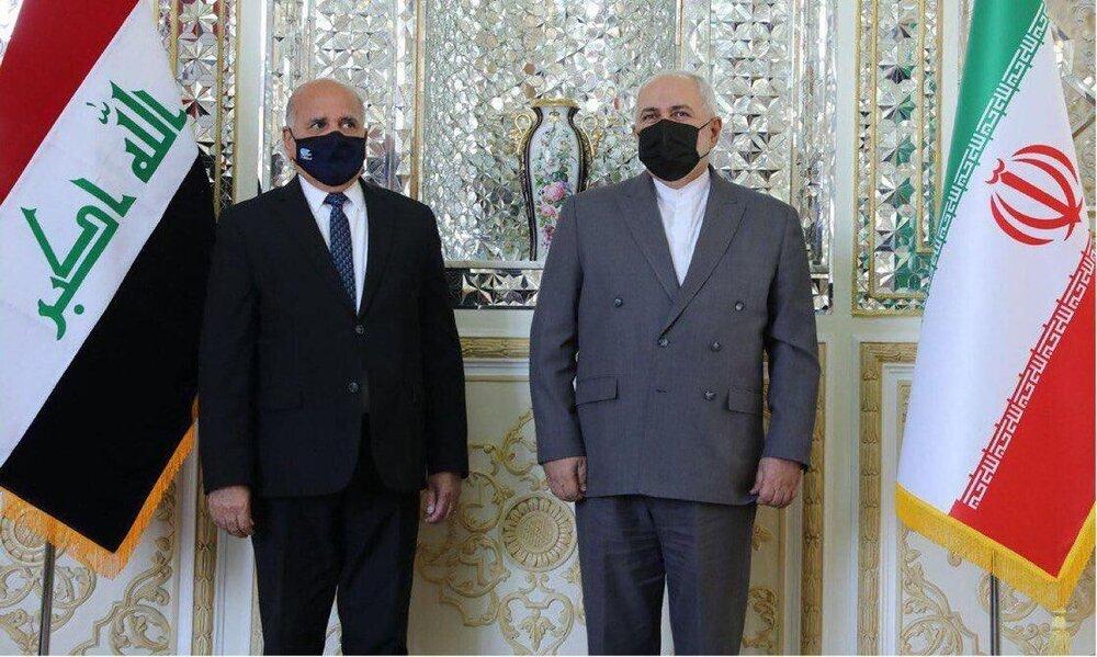 دیدار وزیر امور خارجه عراق با ظریف