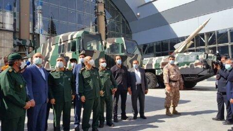 نمایشگاه دائمی دستاوردهای راهبردی نیروی هوافضای سپاه افتتاح شد