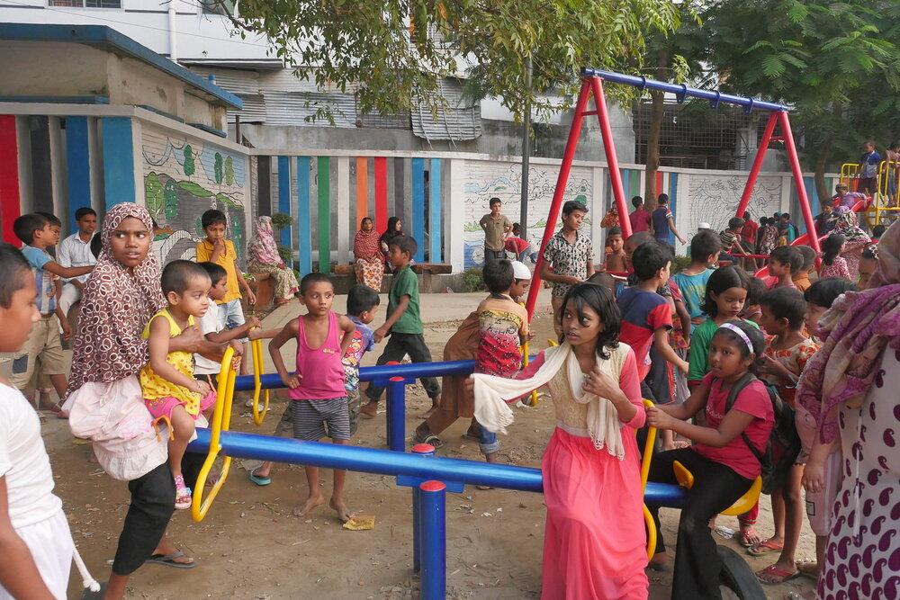 طراحی فضاهای عمومی دوستدار کودک با مشارکت شهروندان
