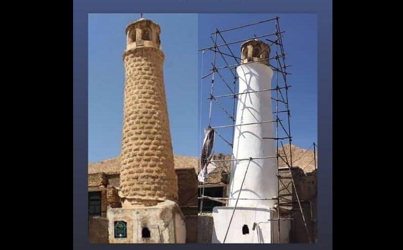 جریان مرمت مسجد پامنار چه بود؟