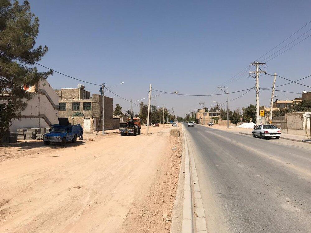 آزادسازی ٩٠ درصد فاز سوم خیابان بهشت در منطقه ۹
