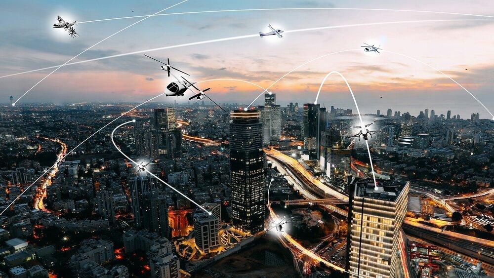نقش پهپادها و وسایل حمل و نقل هوایی در تغییر شهرها