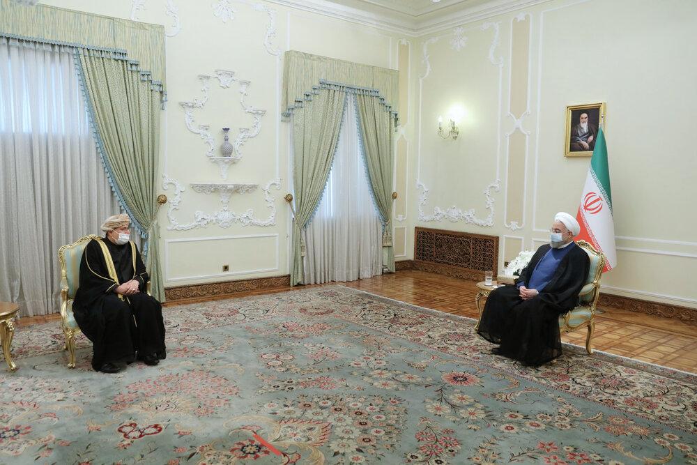ایران علاقه مند به توسعه و تعمیق همکاریها در همه عرصه ها با عمان است